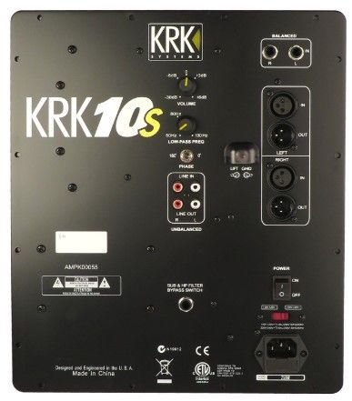 AMP/POWER SUPPLY KRK AMPK00055 (10S)
