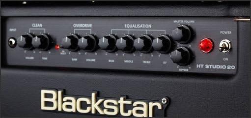 AMPLIFICADOR COMBO P/GUITARRA BLACKSTAR HT STUDIO 20
