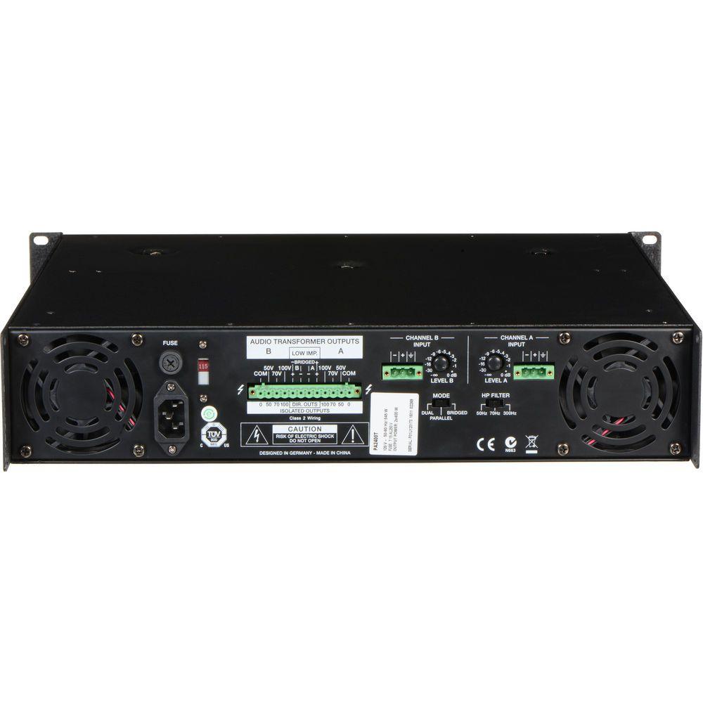 AMPLIFICADOR ELECTRO-VOICE PA2400T