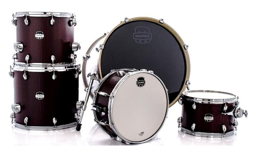 BATERIA MAPEX MARS CROSSOVER 5-PIECE SHELL PACK MA528SF BLOODWOOD