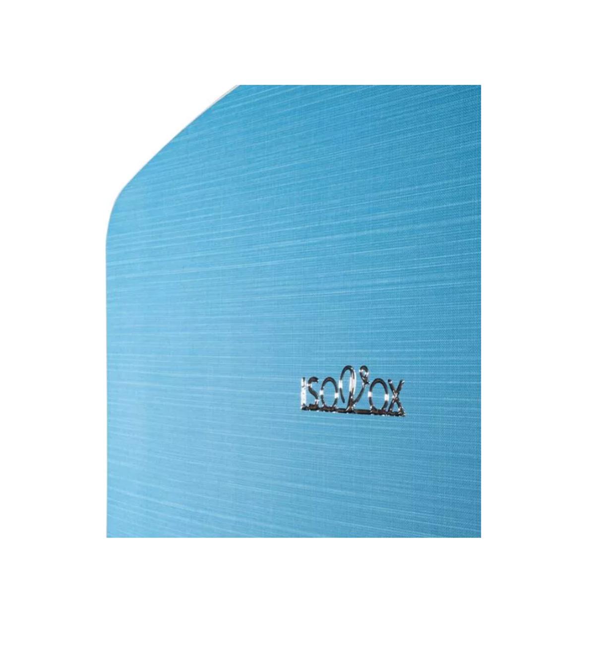 CABINE P/ISOLAMENTO ACÚSTICO VOCAL ISOVOX 2 OCEAN BLUE
