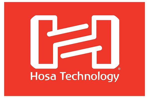 CABO DE ÁUDIO INSERT P10 ESTÉREO (TRS) X 2X RCA 3M HOSA TECHNOLOGY TRS-203
