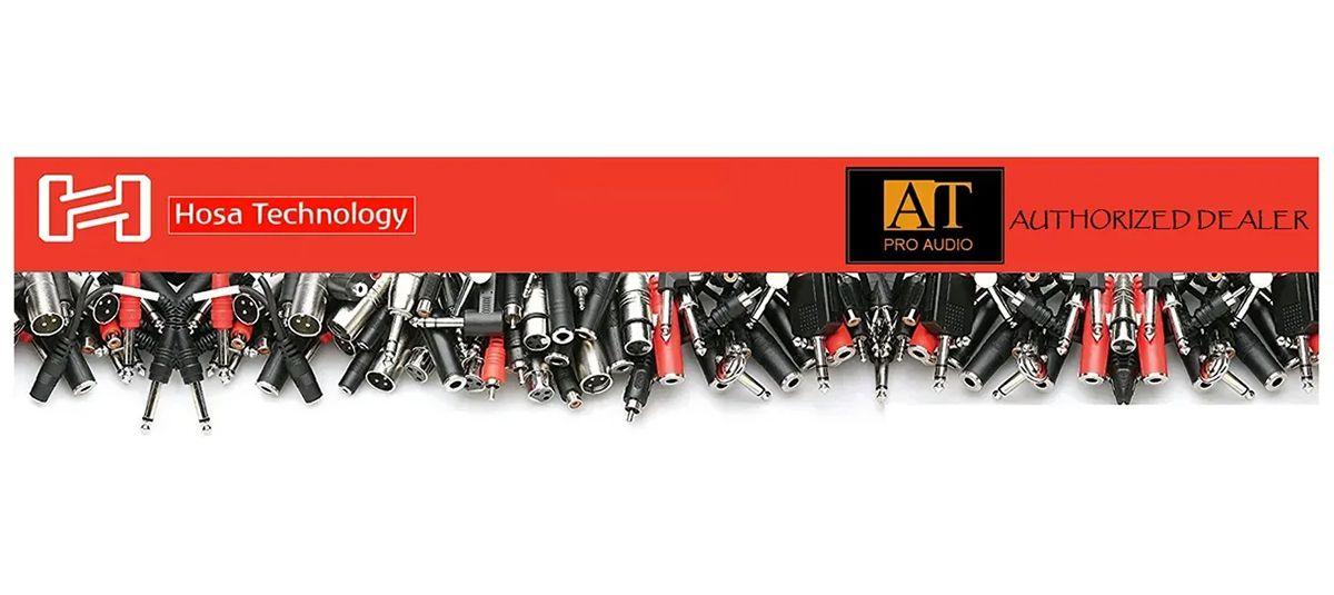 CABO INTERFACE DE ÁUDIO USB X XLR P/MICROFONE DINÂMICO 3M HOSA TECHNOLOGY TRACKLINK UXA-110