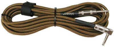 CABO P/INSTRUMENTOS P10 MONO (TS) RETO/ANGULADO DUAL HOSA TECHNOLOGY GTR-518R