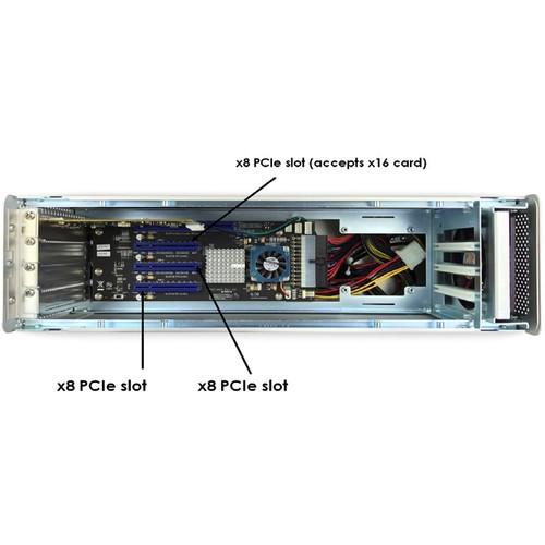 CAIXA DE EXPANSÃO MAGMA EXPRESSBOX 3T V3 3-SLOT PCI-E P/THUNDERBOLT 3