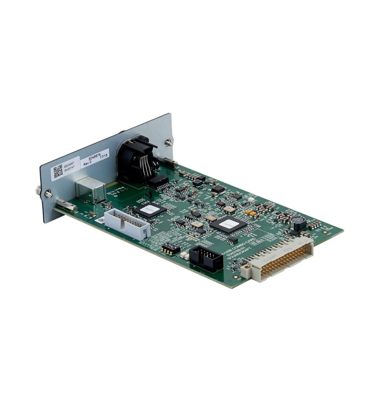 CARD DIGITAL CAT 5 MADI USB COMBO SOUNDCRAFT 5046678.V