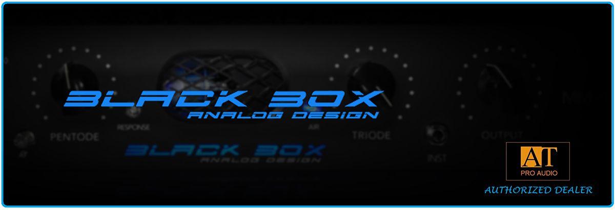 COMPRESSOR BLACK BOX ANALOG DESIGN HG-2 SATURATION PROCESSOR