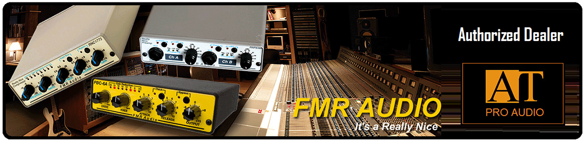 COMPRESSOR FMR AUDIO PBC-6A VINTAGE-Y COMPRESSOR