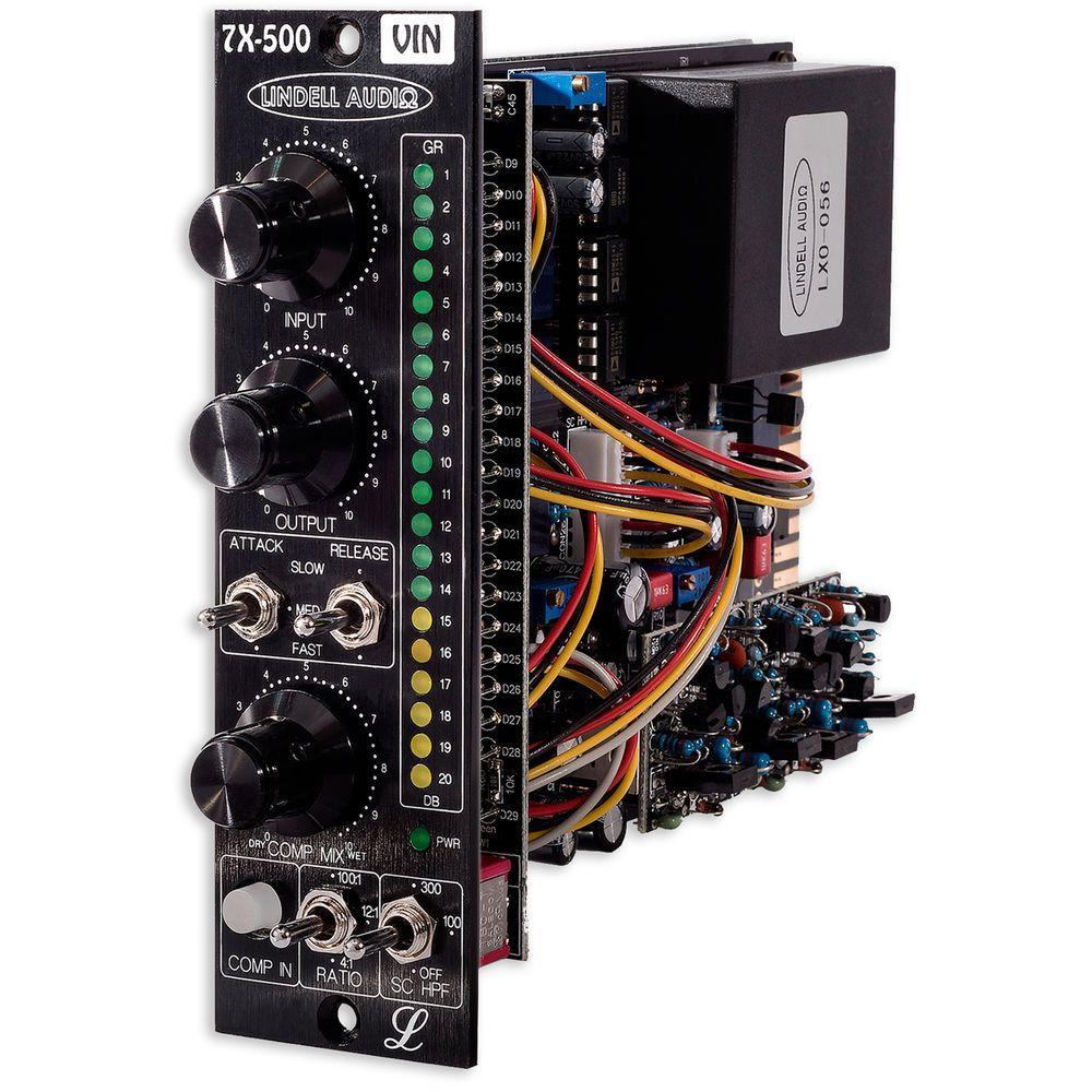 COMPRESSOR / LIMITER FET 500 SERIES LINDELL AUDIO 7X-500VIN