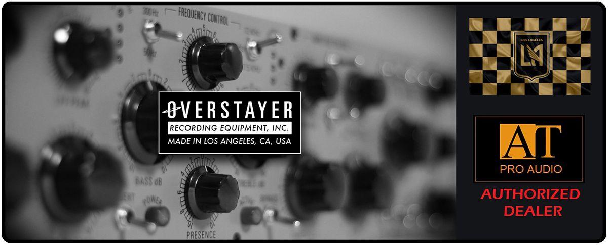 COMPRESSOR / LIMITER OVERSTAYER STEREO FIELD EFFECT MODEL 3706