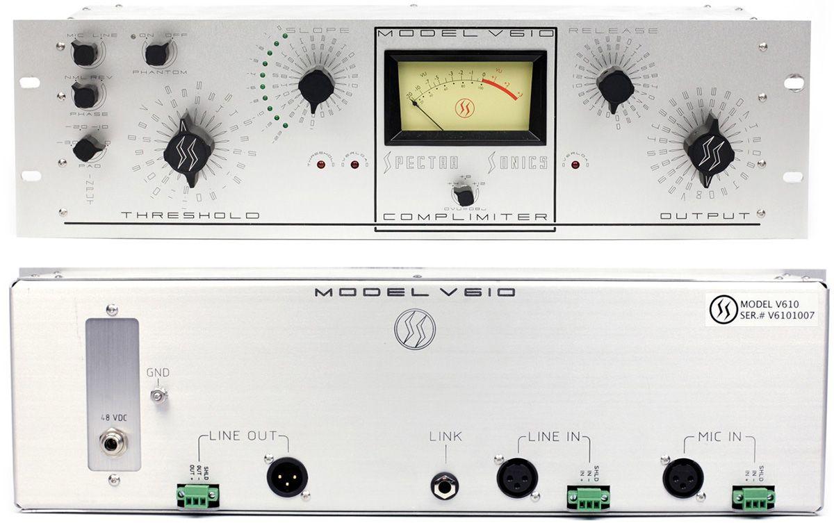 COMPRESSOR /  LIMITER SPECTRA 1964 MODEL V610 COMPLIMITER