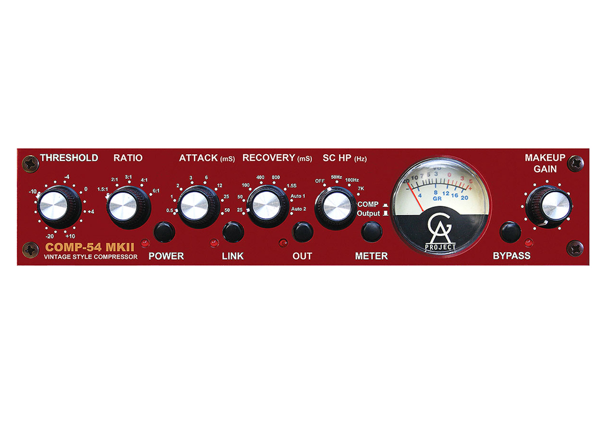 COMPRESSOR VINTAGE STYLE GOLDEN AGE PROJECT COMP-54 MKII