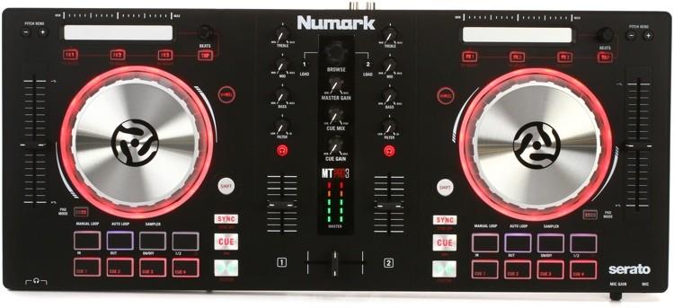 CONTROLADOR P/DJ NUMARK MIXTRACK PRO 3