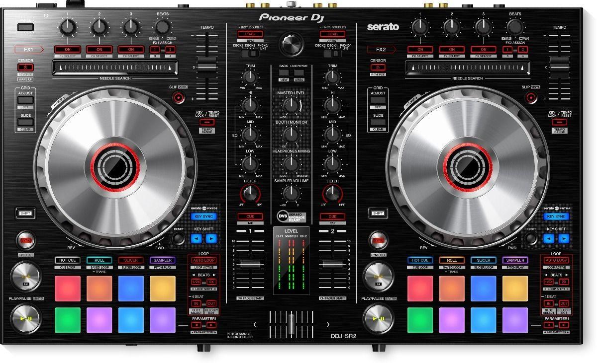 CONTROLADOR P/DJ PIONEER DDJ-SR2
