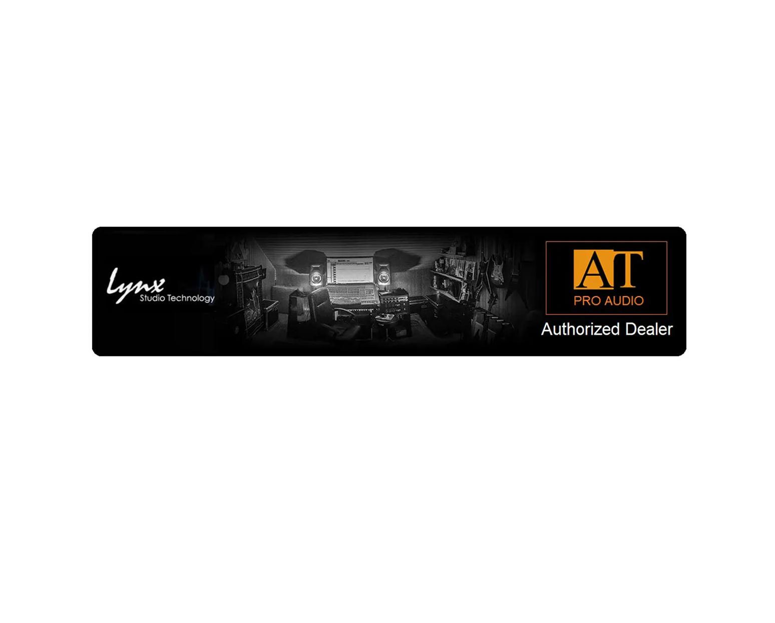 CONVERSOR AD/DA LYNX STUDIO TECHNOLOGY HILO REFERENCE DANTE BLACK