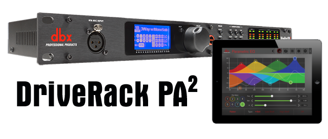 CROSSOVER DBX DRIVERACK PA2