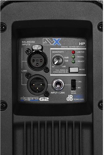 CAIXA DE SOM ATIVA DB TECHNOLOGIES DVX D8 HP