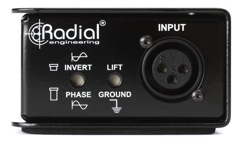 DIRECT BOX PASSIVO RADIAL ENGINEERING REAMP JCR
