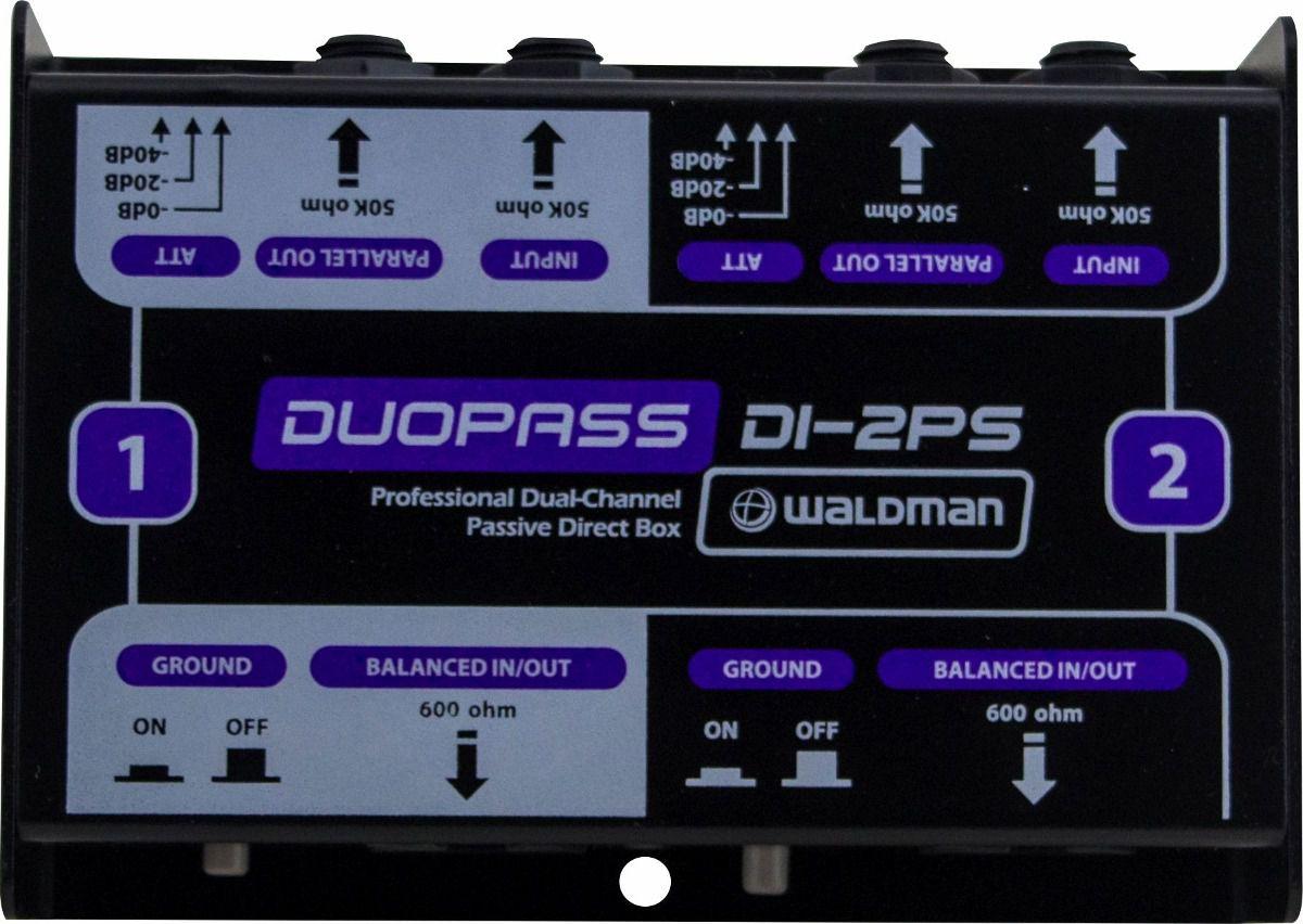 DIRECT BOX PASSIVO WALDMAN DUOPASS DI-2PS