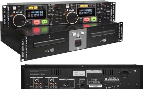 DUAL CD/USB PLAYER DENON DN-D4500 MK2