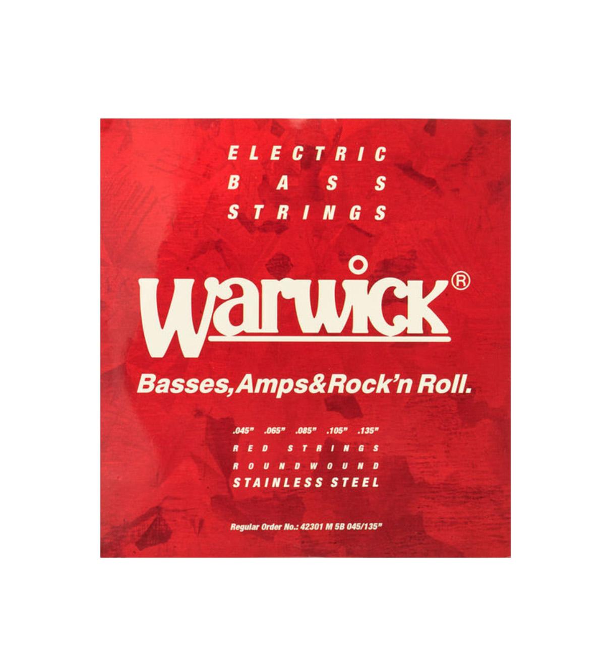 ENCORDOAMENTO P/BAIXO 5 CORDAS WARWICK 42301