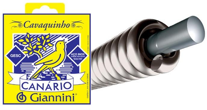 ENCORDOAMENTO P/CAVAQUINHO 0.10 GIANNINI CANÁRIO GESC