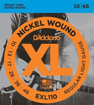 ENCORDOAMENTO P/GUITARRA 0.10 D'ADDARIO EXL110