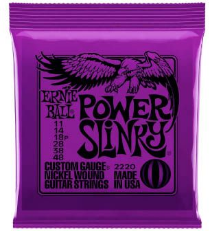 ENCORDOAMENTO P/GUITARRA ERNIE BALL 011 POWER SLINK 2220