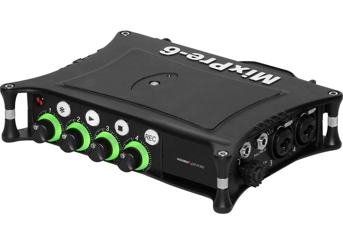 GRAVADOR MULTIPISTAS SOUND DEVICES MIXPRE 6 II