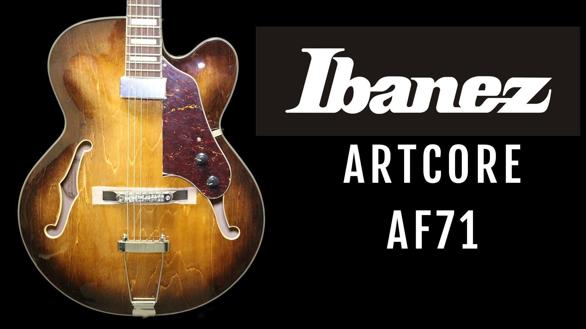 GUITARRA SEMI-ACÚSTICA IBANEZ AF71F