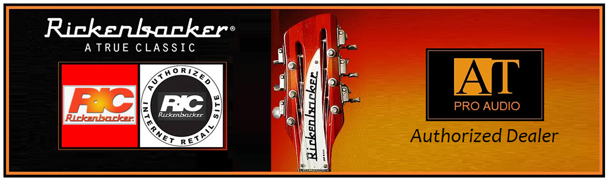 GUITARRA SEMI-ACÚSTICA 12 CORDAS RICKENBACKER 381/12V69 FIREGLO