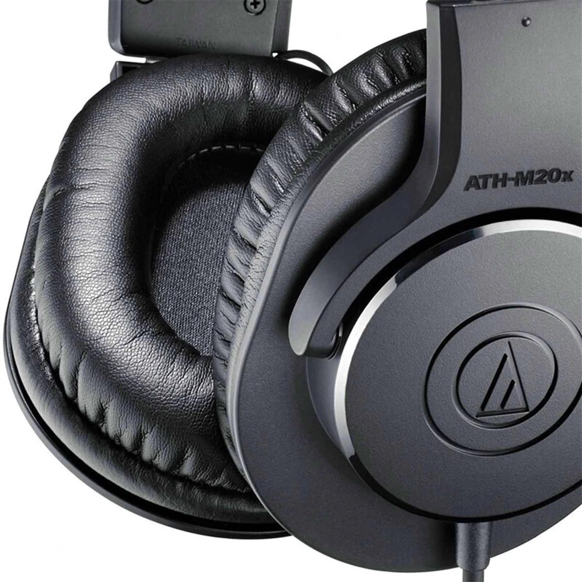 HEADPHONES AUDIO-TECHNICA ATH-M20X