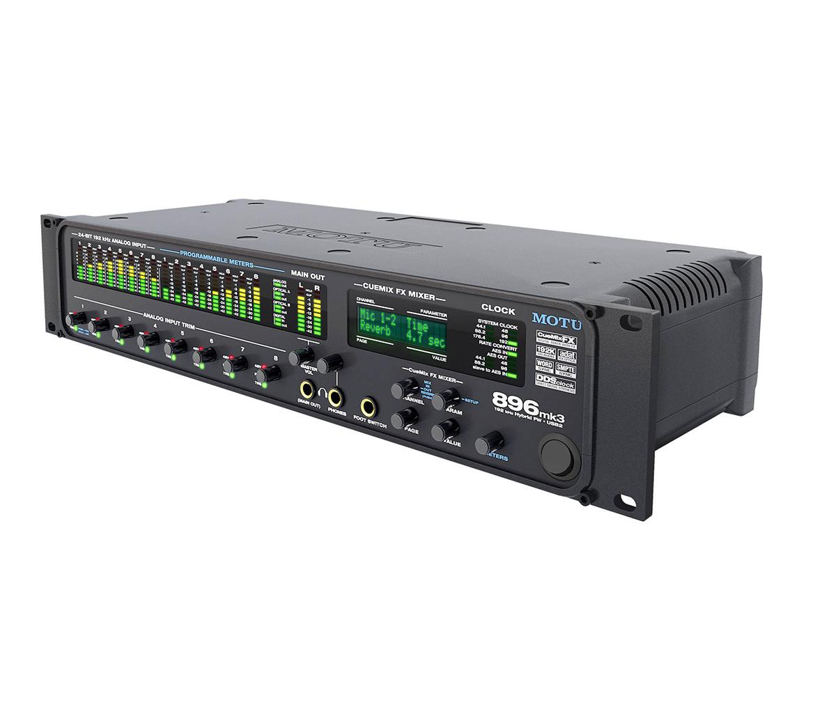 INTERFACE DE ÁUDIO FIREWIRE / USB MOTU 896 MK3 HYBRID