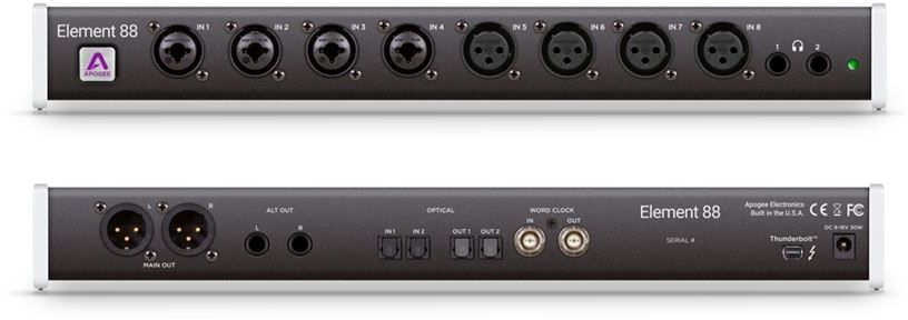 INTERFACE DE ÁUDIO THUNDERBOLT APOGEE ELEMENT 88