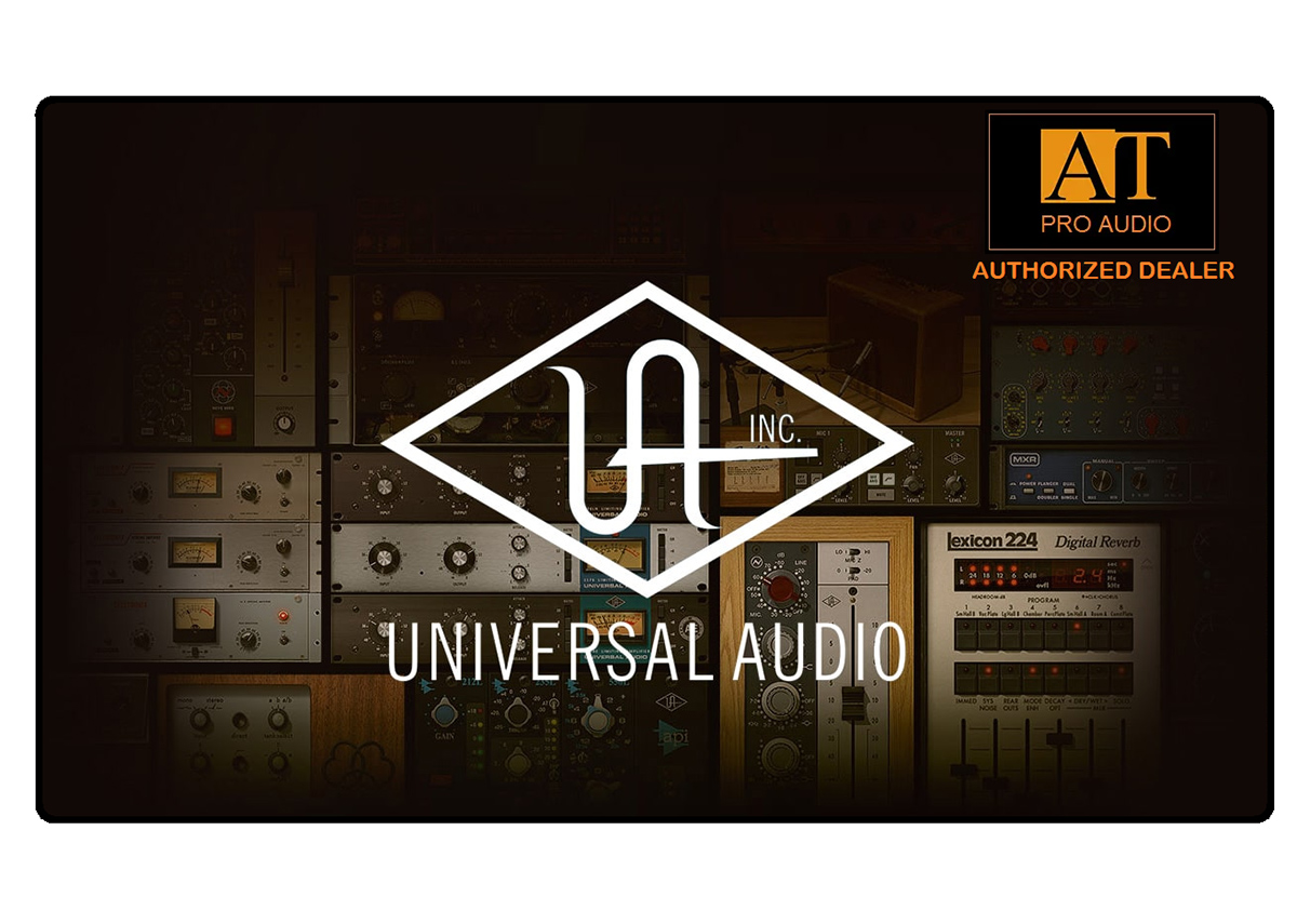 INTERFACE DE ÁUDIO THUNDERBOLT UNIVERSAL AUDIO APOLLO X4 HERITAGE EDITION