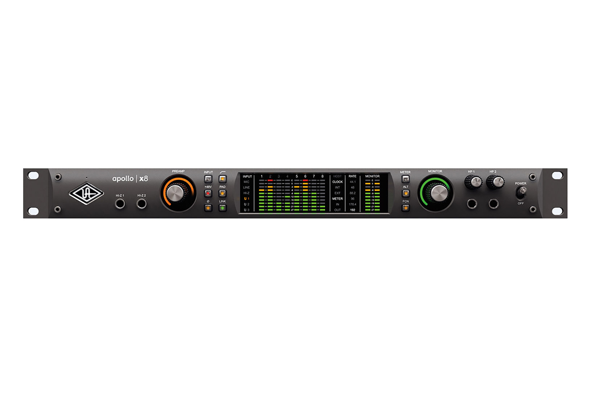 INTERFACE DE ÁUDIO THUNDERBOLT UNIVERSAL AUDIO APOLLO X8 HERITAGE EDITION