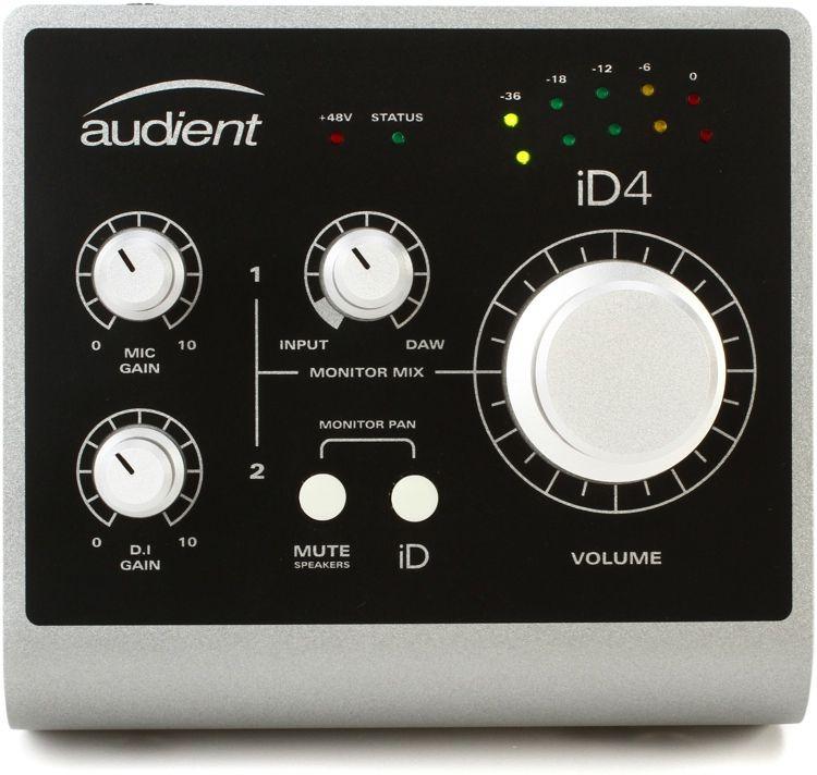 INTERFACE DE ÁUDIO USB AUDIENT ID4