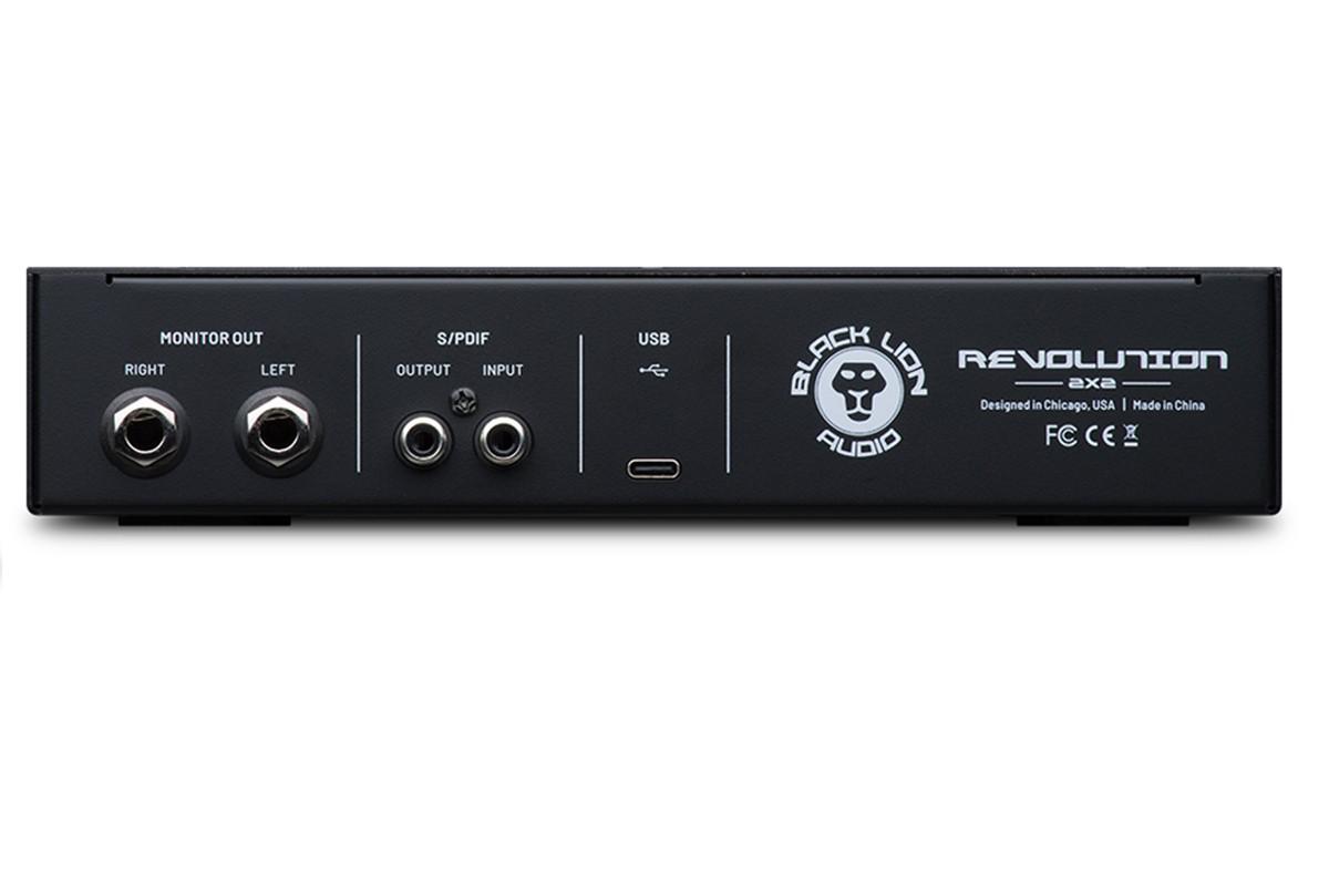 INTERFACE DE ÁUDIO USB BLACK LION AUDIO REVOLUTION 2X2
