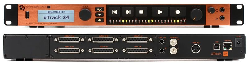 INTERFACE DE ÁUDIO USB CYMATIC AUDIO UTRACK 24
