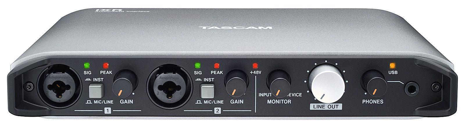INTERFACE DE ÁUDIO USB DESKTOP / IPHONE / IPAD TASCAM IXR