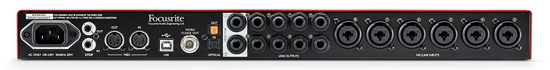 INTERFACE DE ÁUDIO USB FOCUSRITE SCARLETT 18I20 2ND GEN