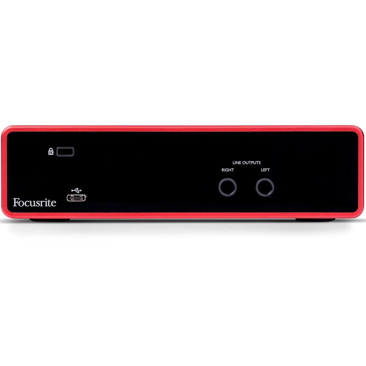 INTERFACE DE ÁUDIO USB FOCUSRITE SCARLETT 2I2 3ND GEN