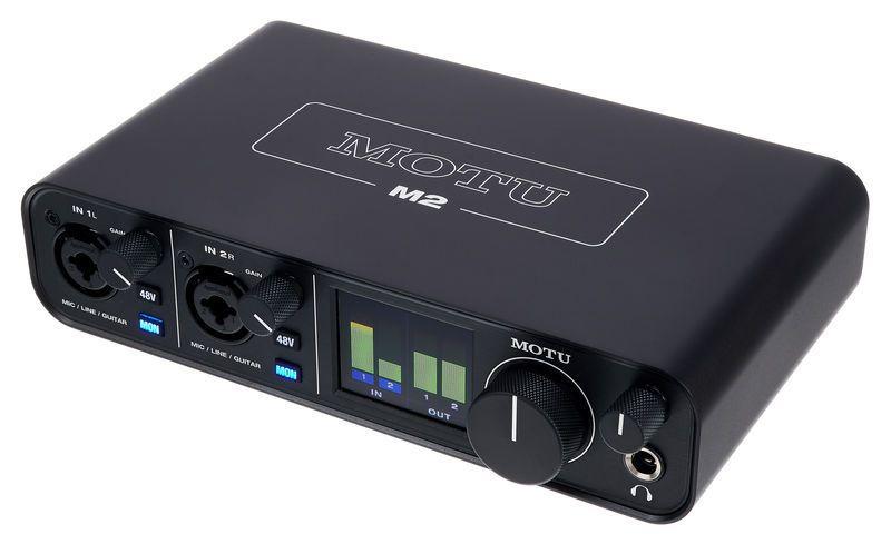 INTERFACE DE ÁUDIO USB MOTU M2