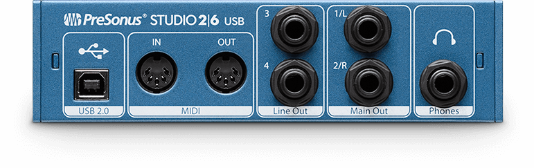 INTERFACE DE ÁUDIO USB PRESONUS STUDIO 26