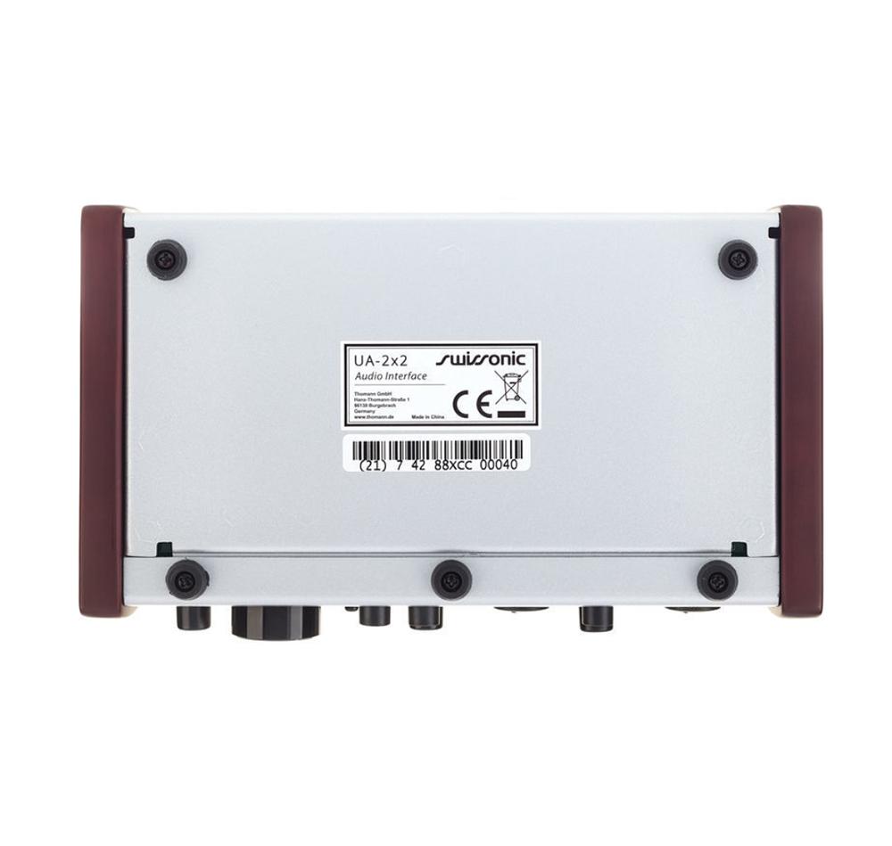INTERFACE DE ÁUDIO USB SWISSONIC UA-2X2