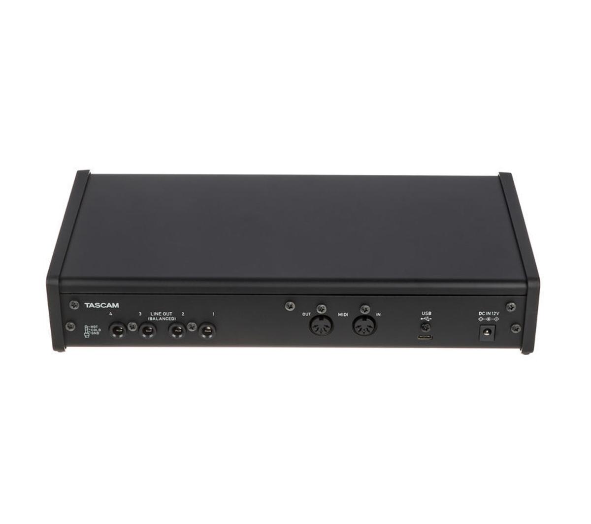 INTERFACE DE ÁUDIO USB TASCAM US-4X4HR