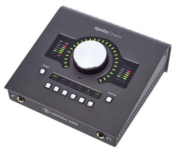 INTERFACE DE ÁUDIO FIREWIRE UNIVERSAL AUDIO APOLLO TWIN DUO MKII