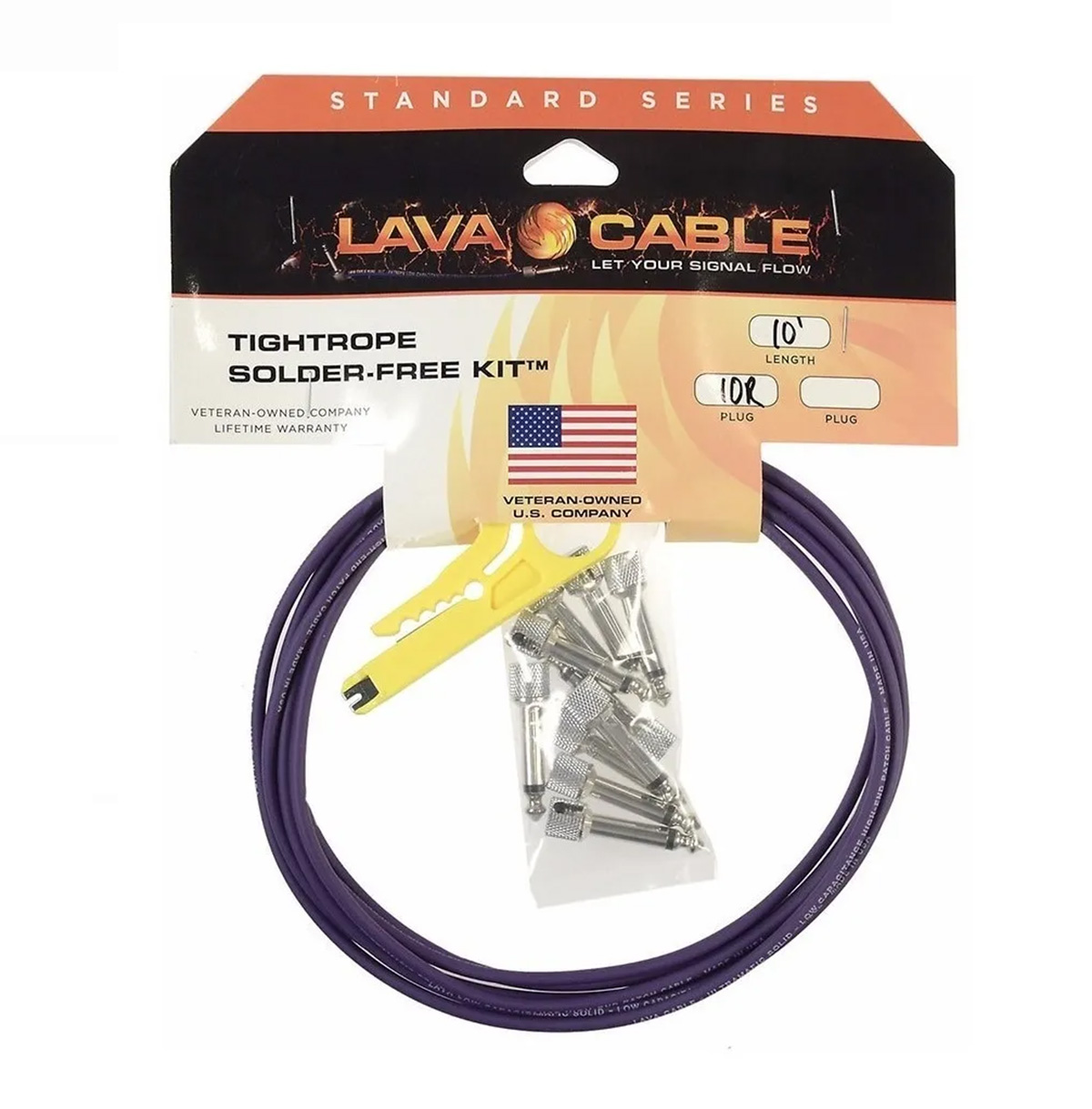 KIT DE CABOS PEDALBOARD LAVA CABLE LCTRKTB TIGTROPE PEDALBOARD CABLE KIT