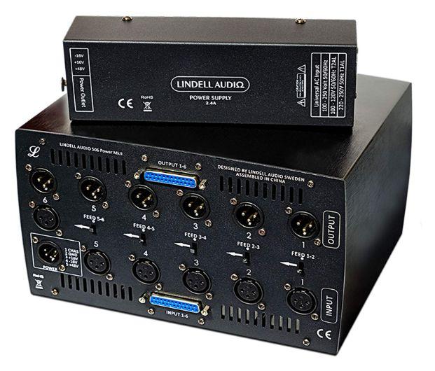 LUNCHBOX LINDELL AUDIO 506 POWER MK2