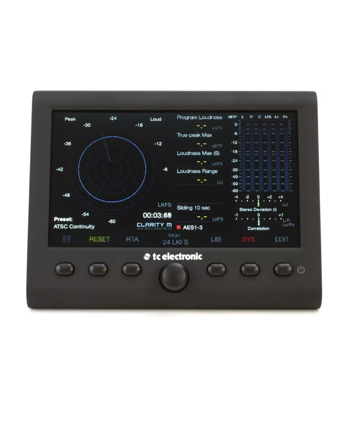 MEDIDOR DE LOUDNESS TC ELECTRONIC CLARITY M V2